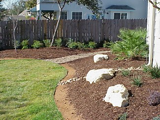 21 landscaping stage 2 no 8 pictures of a custom home for Home turf texas landscape design llc